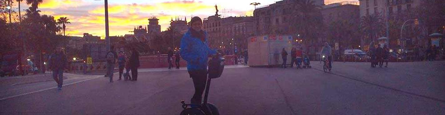 Ночная экскурсия на сегвеях по Барселоне (2 часа)