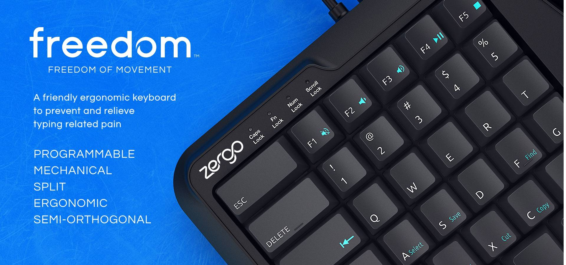 home banner | mechanical keyboard | typing | ergonomic keyboard