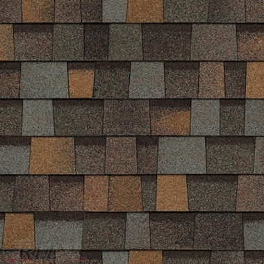 OPTIONAL DESIGNER SHINGLES-AGED COPPER