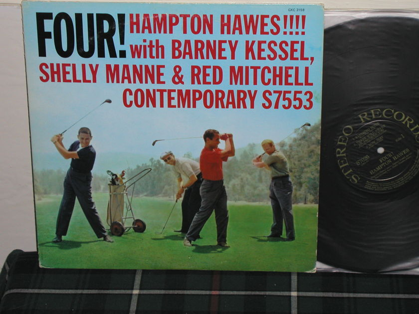 Shelly Manne/Hamp Hawes - FOUR! STEREO Records S7026 from 1958!