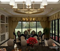 wlea-enterprise-sdn-bhd-classic-malaysia-selangor-dining-room-3d-drawing-3d-drawing