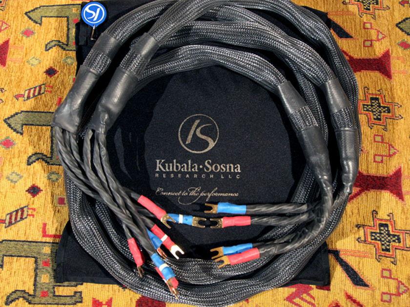 Kubala Sosna Elation Speaker Cables