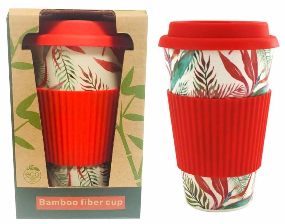 mug bambou ecocup gobelet en fibre de bambou reutilisable travel de voyage tasse