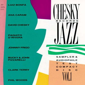 Chesky Records Jazz Sampler & Audiophile Test Disc