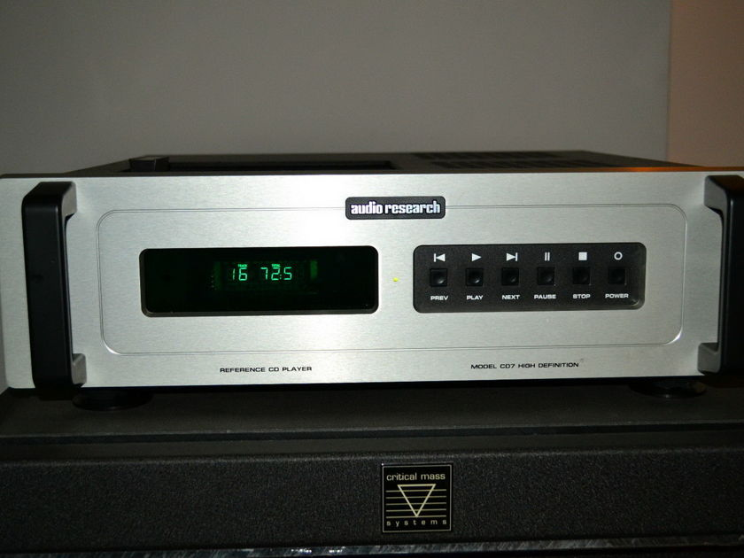 Audio Research REF 7 CD7 CD player