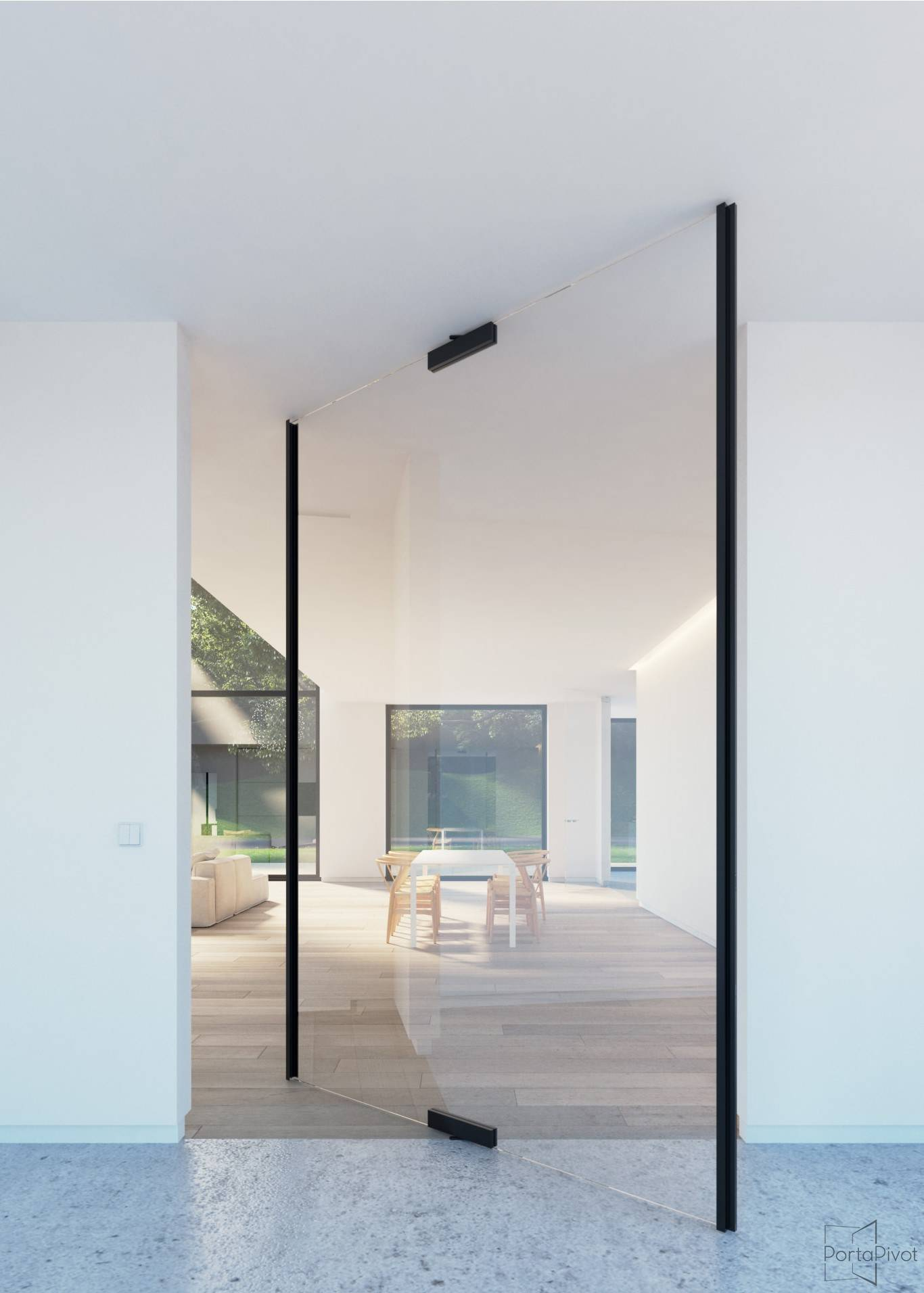 Glass Patch Fittings For Pivot Doors Portapivot