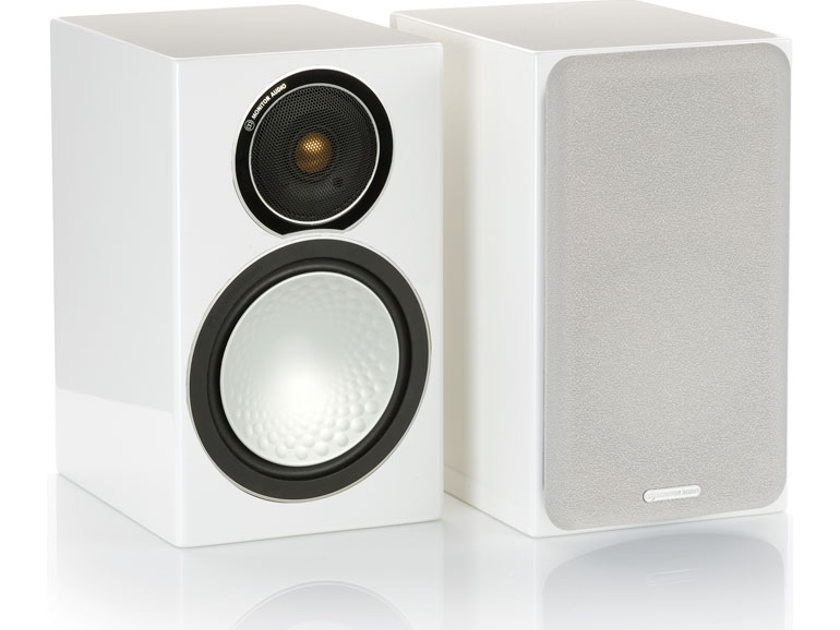 Monitor Audio Silver 1 Bookshelf Speakers Brand New-in-Box; 5 Yr. Warranty; 25% Off; Free Shipping