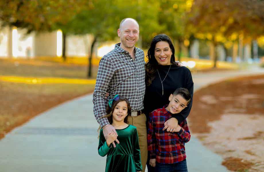 Franchise Owner of Primrose School Lisa and family