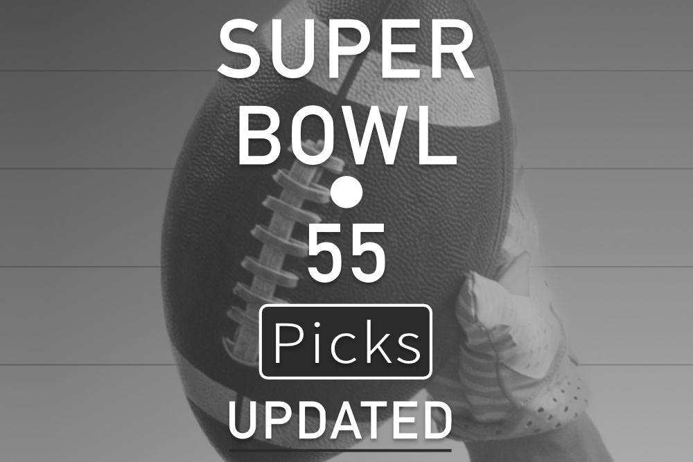 Updated Super Bowl 55 Picks