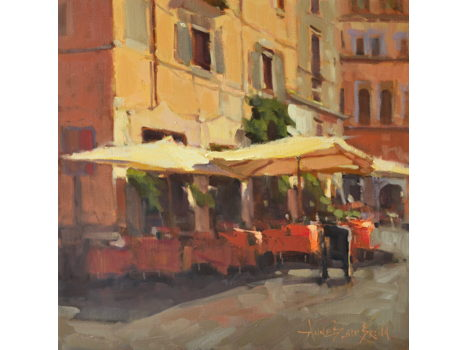 """Bella Cafe"" by Local Artist Anne Blair Brown"