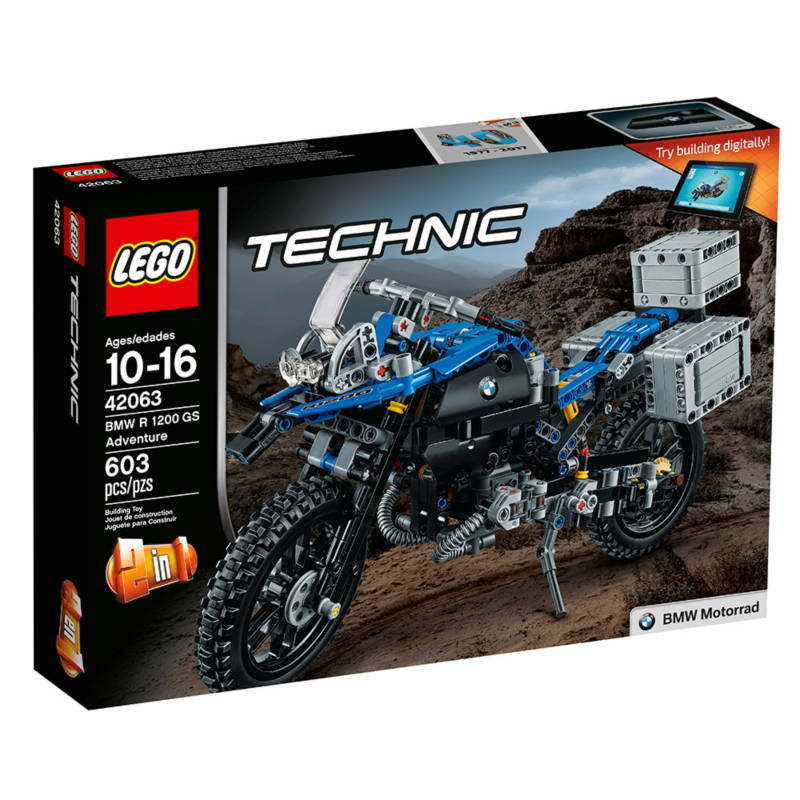 LEGO BMW R 1200 GS Adventure 42063 box