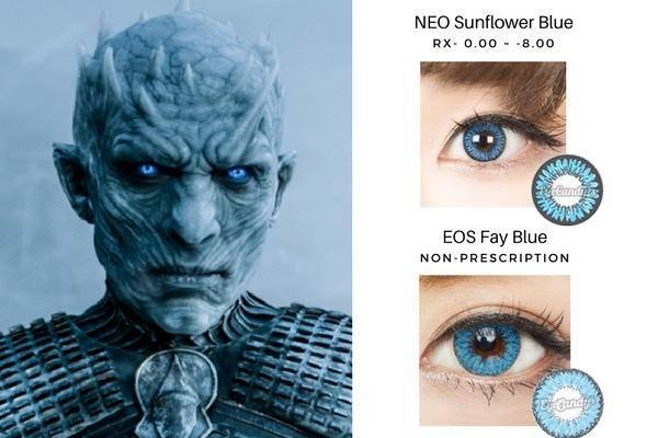 Night King's Blue EYes