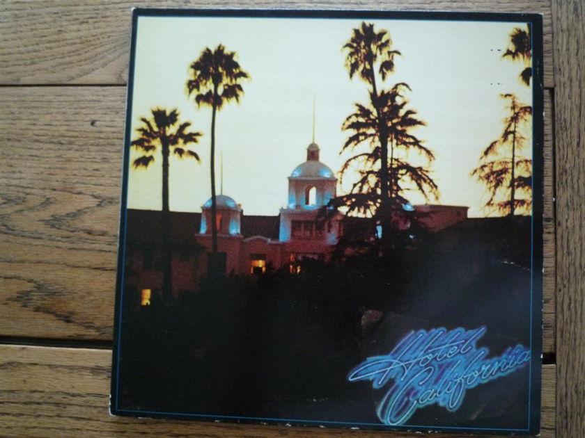The Eagles  - Hotel California 33 rpm vinyl LP Asylum Records  7E-1084
