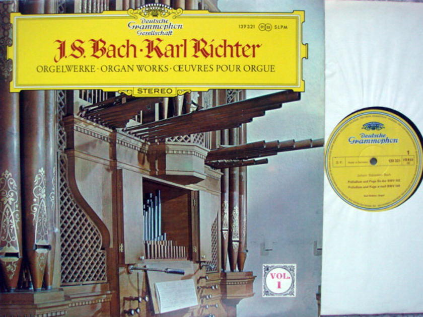 DGG / KARL RICHTER, - Bach Organ Works Vol.1, MINT!