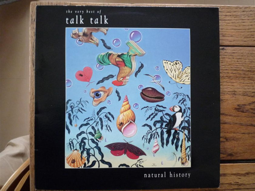 TALK TALK - NATURAL HISTORY very best of 33rpm vinyl LP Parlophone PCSD 109