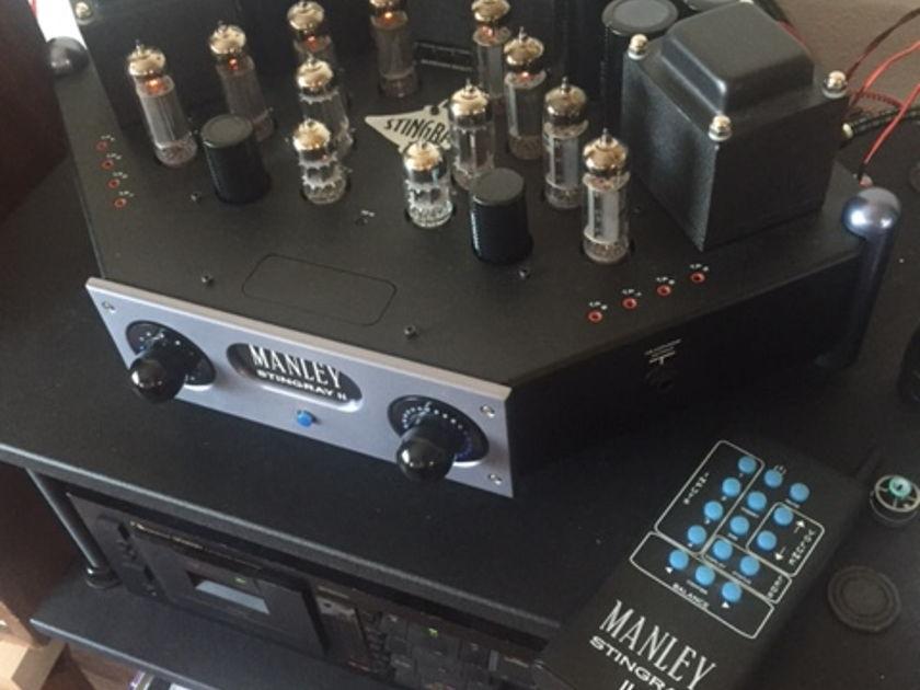 Manley Laboratories Stingray mkII integrated tube amp