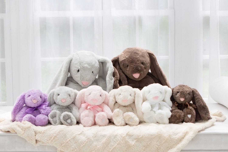 Xander Microwaveable Stuffed Bunny, Therapy Bunny for Kids -  Lavender-Life.com
