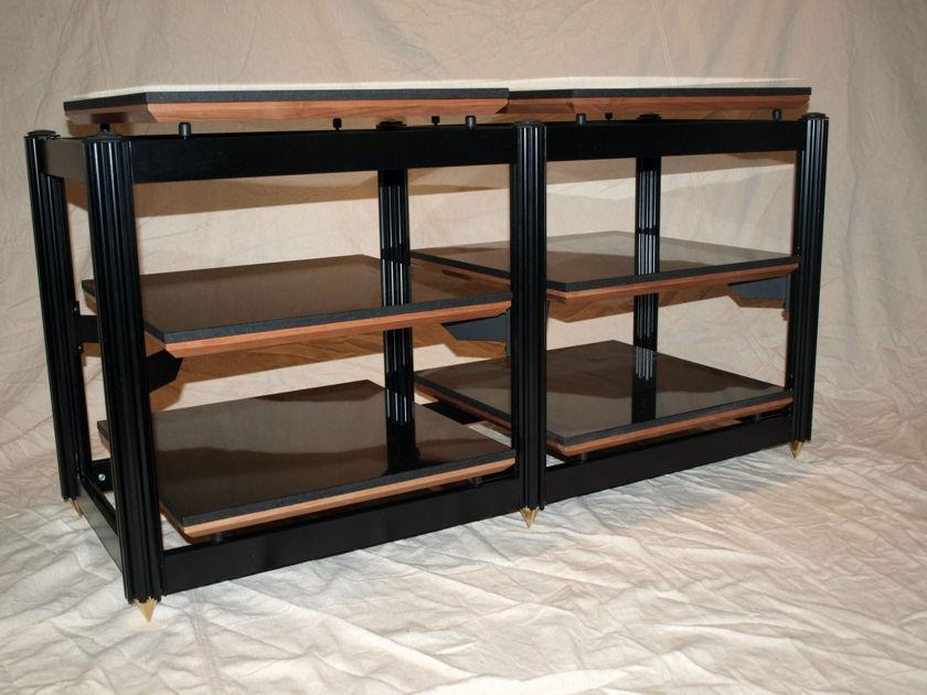 Adona Corporation Eris 6 DW Double Width 6-Shelf Isolation Rack