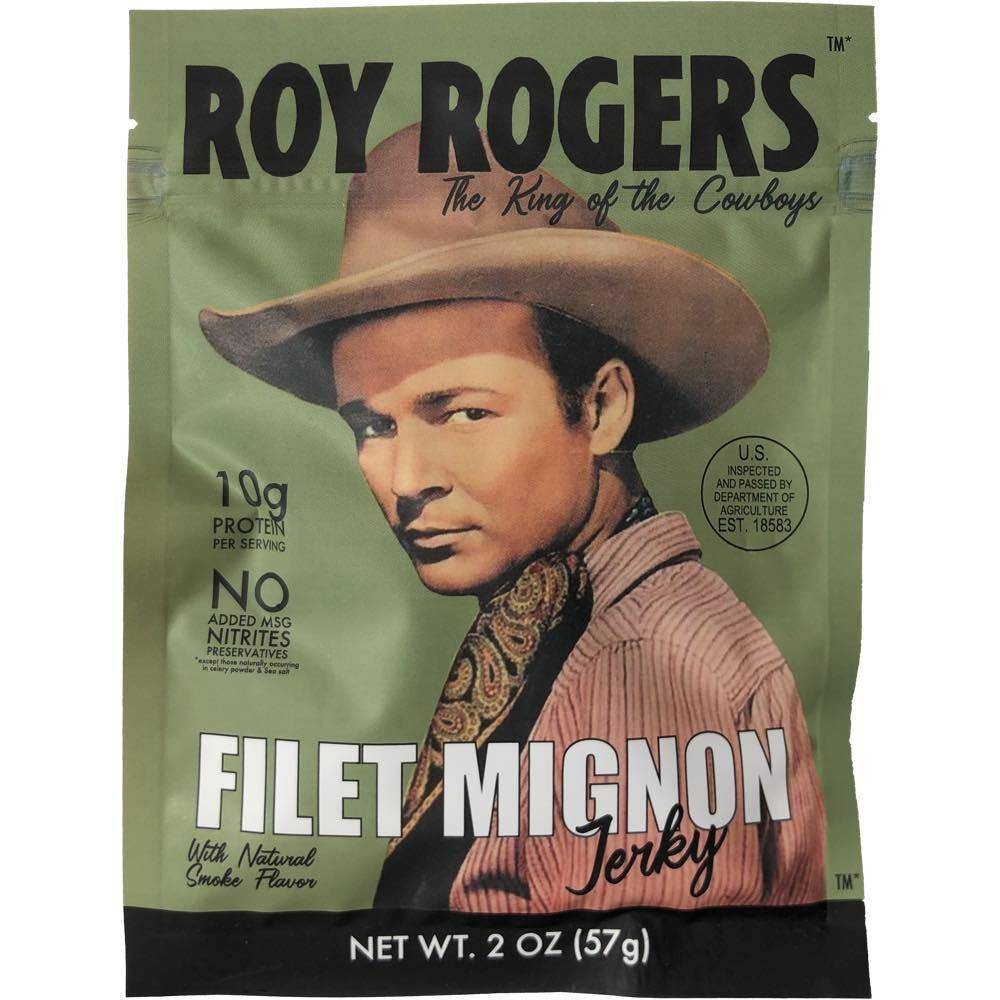 Roy Rogers Filet Mignon Beef Jerky JerkyGent