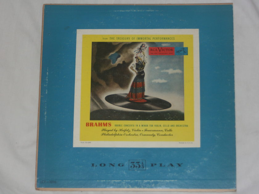 Ormandy - Brahms Double Concerto in A Minor RCA Victor LCT-1016