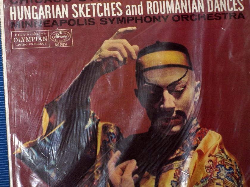 "BARTOK / Dorati  - ""Suite From The Miraculous Mandarin"" -  Mercury Living Presence 1958 Mono Sealed"