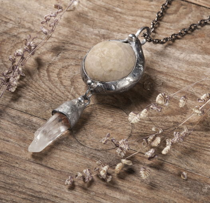 Амулет - таинственный Иглокожий c серебрением