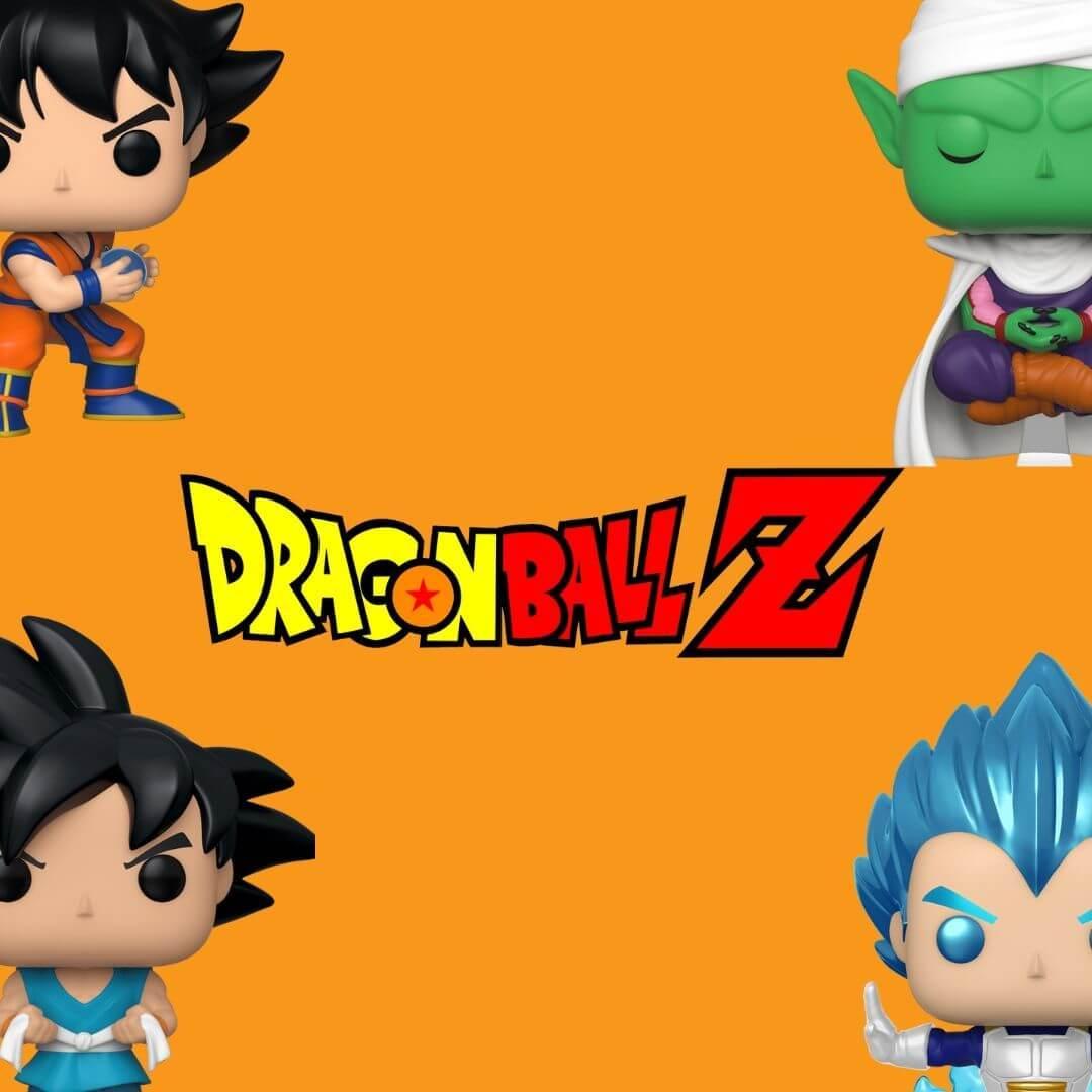 Bobble head, bobble-heads, Comics, deadpool, funko,  Superhero, under-1000 , pop, dragon ball z, Goku, Vegetta, Piccolo