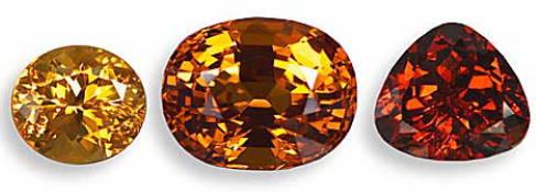 Spessartite garnet yves lemay jewelry