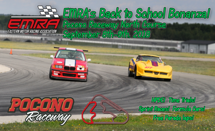 EMRA'S Back To School Bonanza at Pocono North