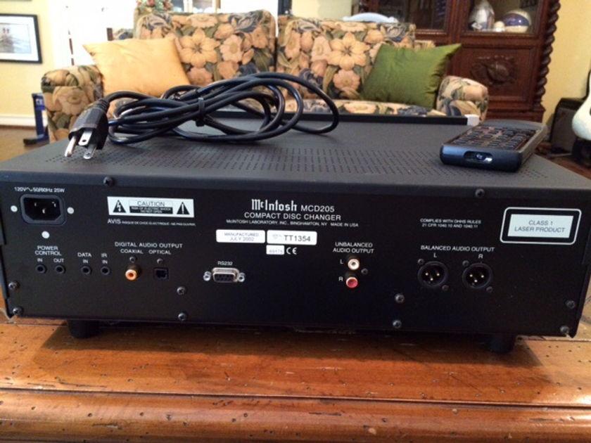 McIntosh MCD-205 CD Player