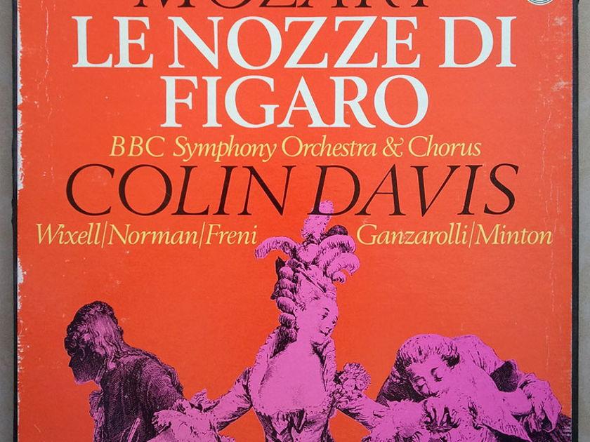 PHILIPS | DAVIS/MOZART - Le nozze di Figaro (The Marriage of Figaro) / 4-LP box set / NM