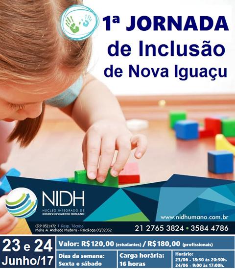 1º Jornada de Inclusão de Nova Iguaçu