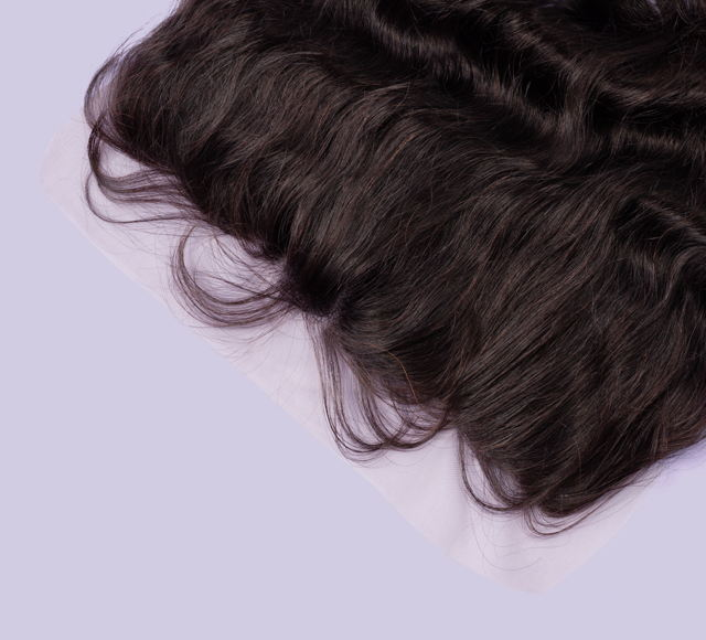 Loose Wave Natural Black Frontals Mayvenn