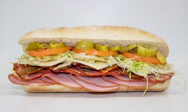 Big Star Sandwich Ham,Capocollo,Bacon,Habanero Jack