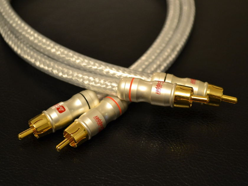 virtue audio nirvana interconnect 1 meter rca mint