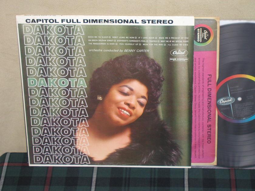Dakota Staton - DAKOTA Capitol ST1490 1st labels STEREO