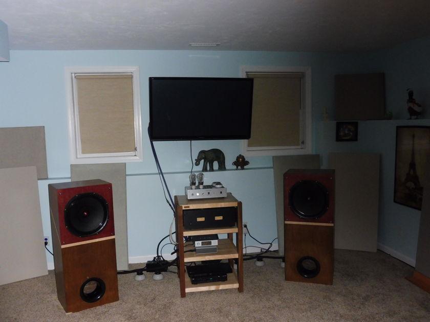 Audio Nirvana Super 15 Alnico - Custom $$ Premium cabinets