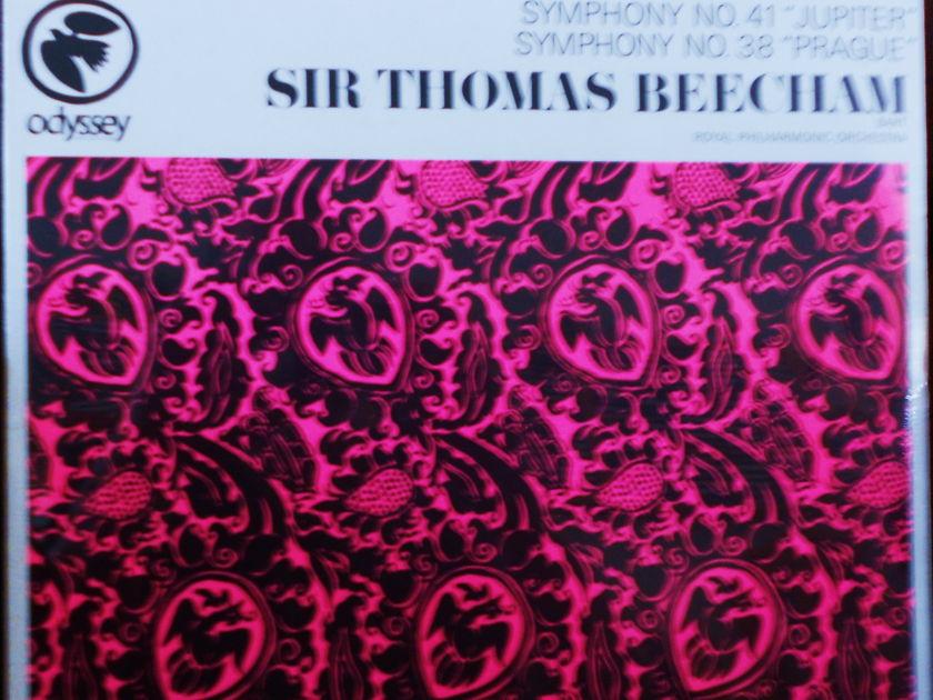 FACTORY SEALED ~ MOZART ~SIR THOMAS BEECHAM - SYMPHONY 38 & 41 ODYSSEY 32 16 0023 (1967)