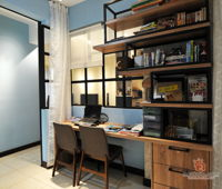 dcs-creatives-sdn-bhd-industrial-modern-malaysia-selangor-study-room-interior-design