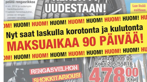 Suomen Rengas-Heikki Oy, Oulu