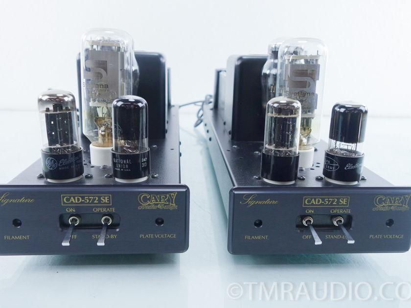 Cary CAD-572 SE Signature Mono Tube Power Amplifier Pair (9569 )