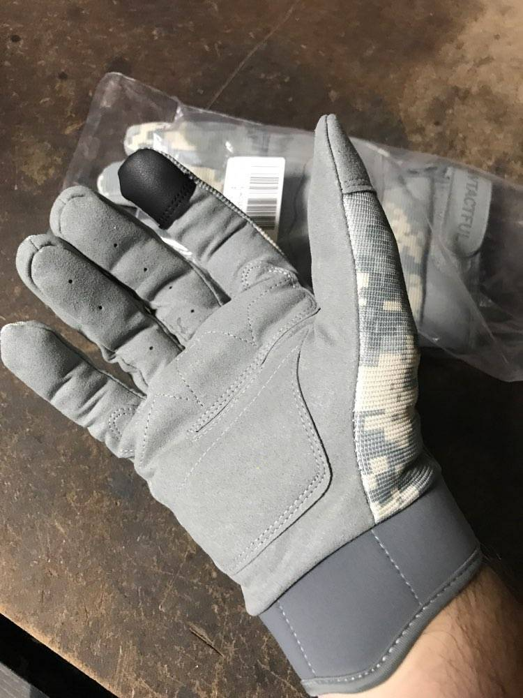 gants trottinette vitesse camouflage smartphone
