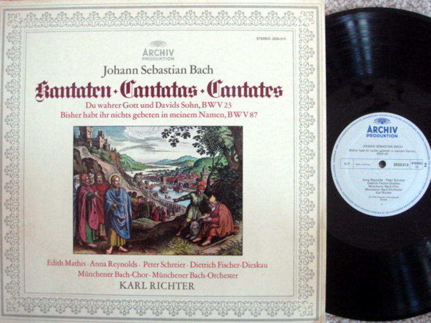 Archiv / RICHTER, - Bach Cantatas BWV.23 & 87, MINT!
