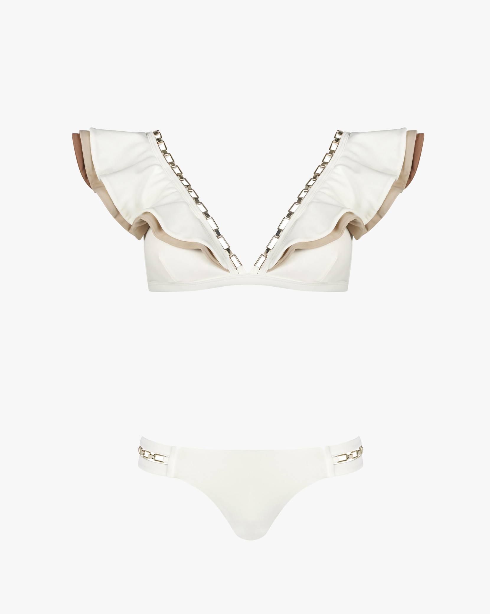 Lily & Rose Swimwear Lola bikini in vanilla