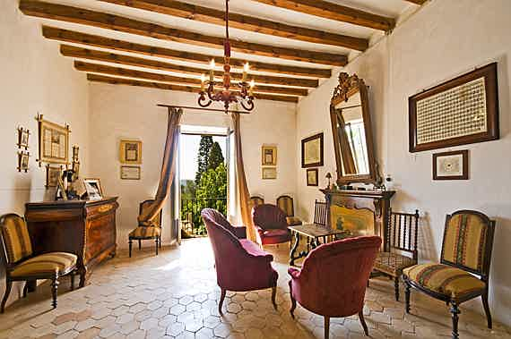 Llucmajor, Mallorca - Traditional, Majorcan manor estate located at the food of the Tramuntana mountains