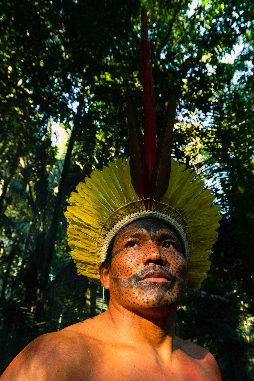 Yawanawá man in Brazil