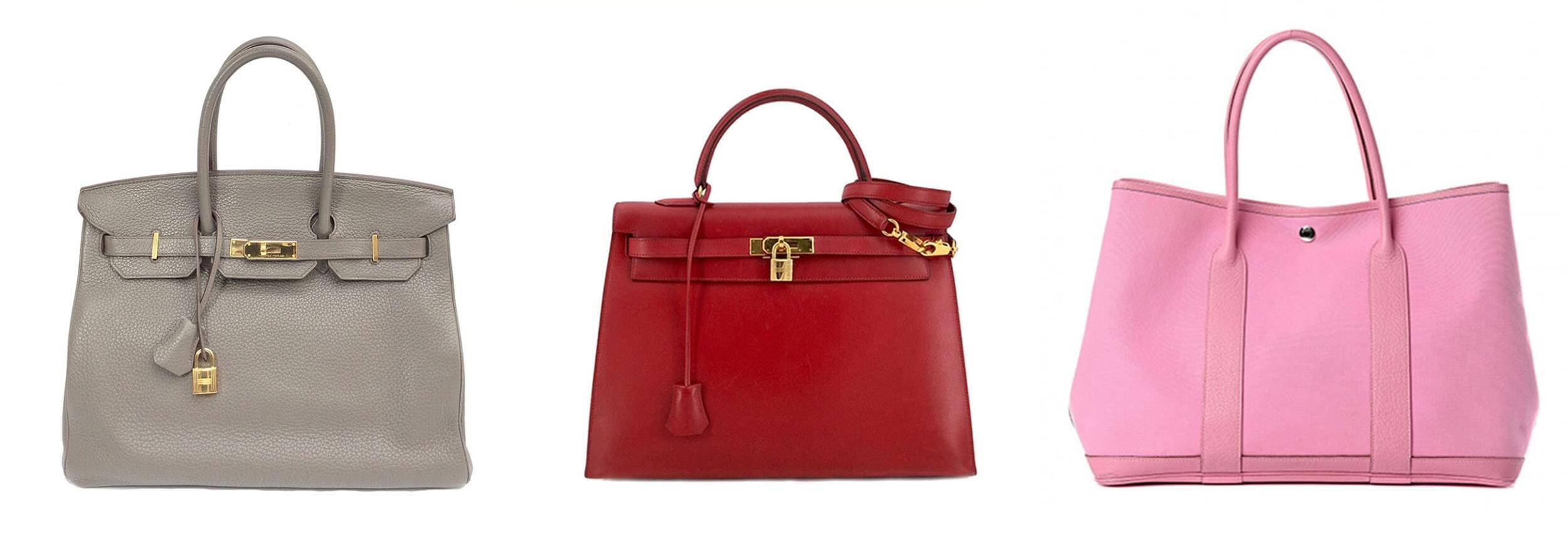Birkin Kelly and Garden Party Tote Bags