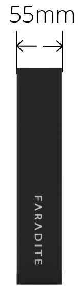 Faradite Sample Case depth dimensions