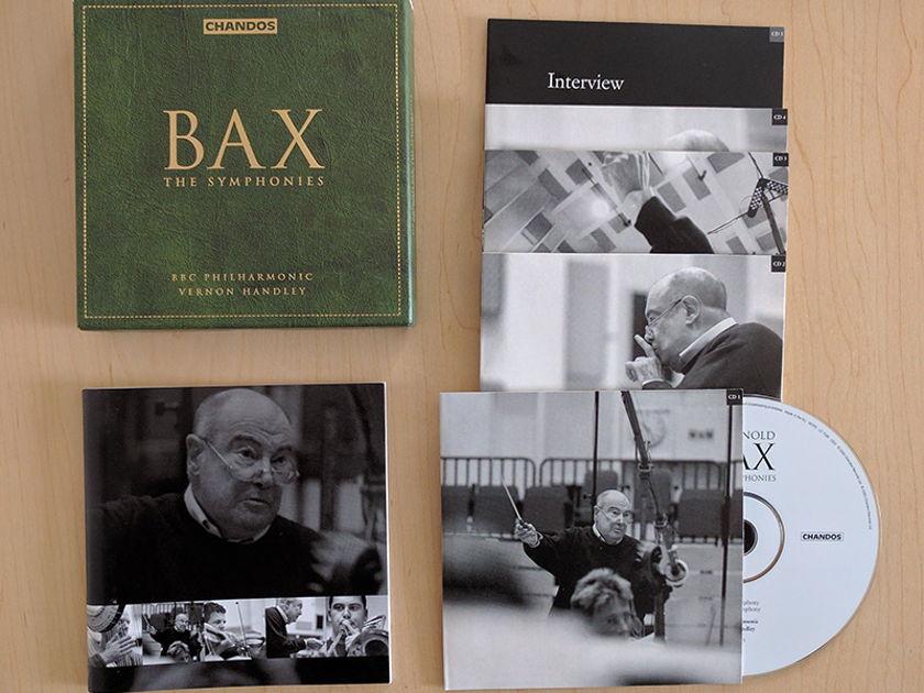 Vernon Handley BBC Philharmonic - BAX The Symphonies Chandos