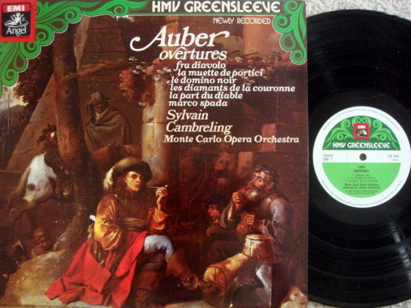 EMI HMV / CAMBRELING,  - Auber Overtures, MINT, UK Press!
